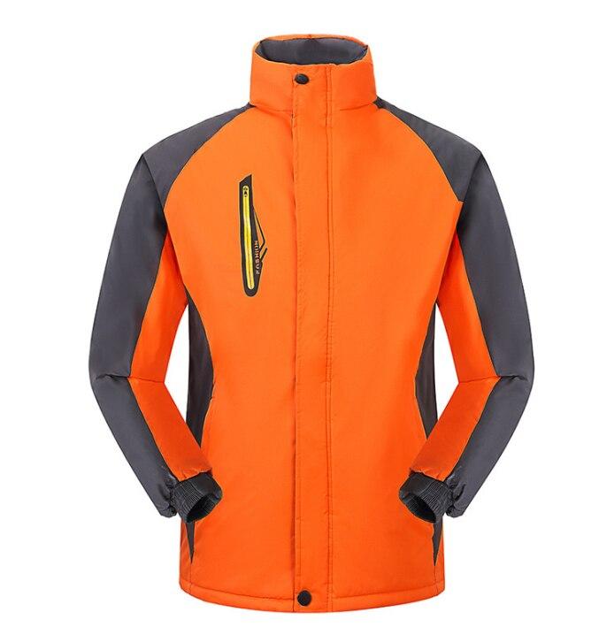 Зимние популярные мужские хлопчатобумажные мужские плюс хлопок мягкий хлопок верхняя куртка