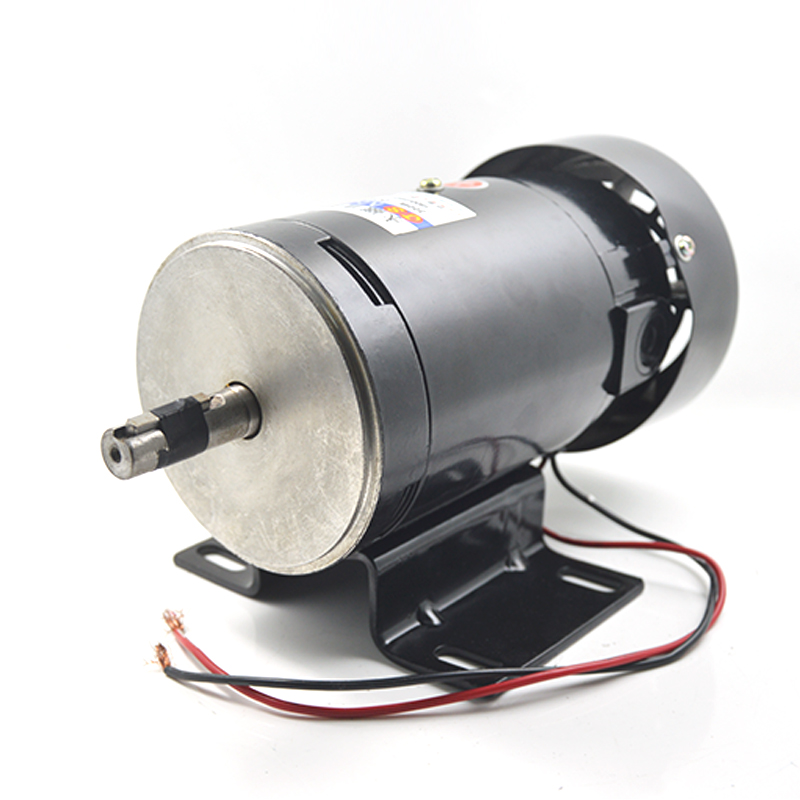 JS-ZYT21 permanent magnet DC motor speed high torque and low noise can be reversible motor 220VDC / 300W Power Tool Accessories js zyt20 dc permanent magnet motor power 1800 rpm and high torque variable speed reversing dc220v 200w