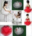 Retail&wholesale New Girls Kids Ballet Tutu Dance Elegant Dress Dancewear Party Dress,Princess,Cloth,Fabric,Gymnastics Costume