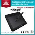 """Новый HUION 680 S 8 """"x 6"""" Цифровые Графические Планшеты, Профессиональная Анимационная Картина Доски Искусства Tablet Pad черный"""