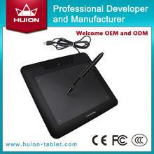 """Nueva HUION 680 S 8 """"x 6"""" Tabletas de Lápiz Profesional de Animación Gráfica Digital Pintura Placas Arte Tablet Pad negro"""