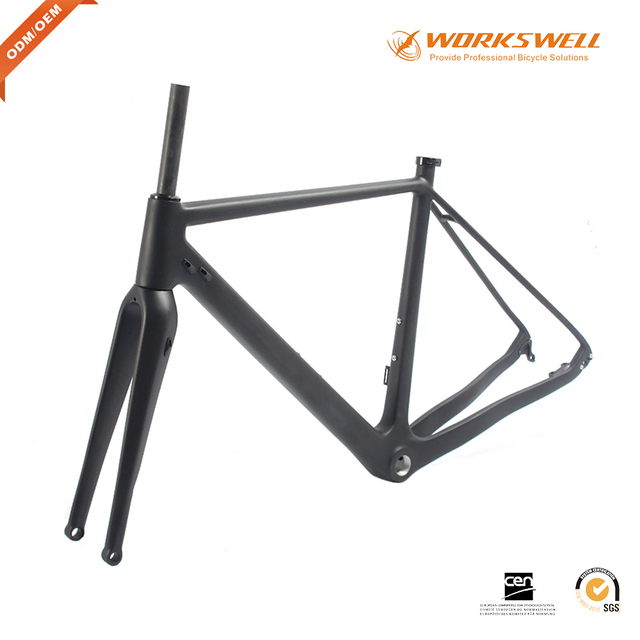 Workswell Cyclocross Carbon Frame Disc Full Carbon Fiber Cyclocross ...