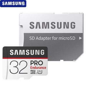 Image 3 - سامسونج بطاقة الذاكرة مايكرو SD بطاقة الموالية التحمل 100 برميل/الثانية 32GB 64GB 128GB SDXC SDHC الدرجة 10 TF بطاقة C10 UHS I ترانس فلاش بطاقة