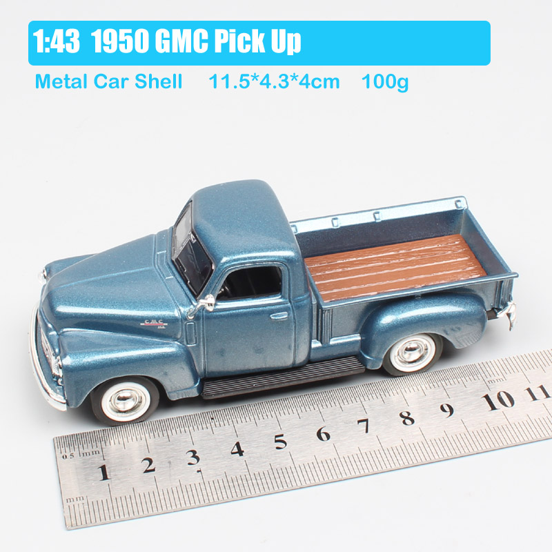 1 43 Scale Road signature vintage 1950 GMC PICKUP truck metal Diecasts Toy Vehicles Cars model Replica toys for adult collectors in Diecasts Toy Vehicles from Toys Hobbies