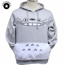 Totoro Animal Patchwork Sweatshirts Hoodie