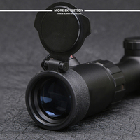 New 1 4X20 Riflescopes Rifle Scope Hunting Scope w/ Mounts(11mm/22mm)