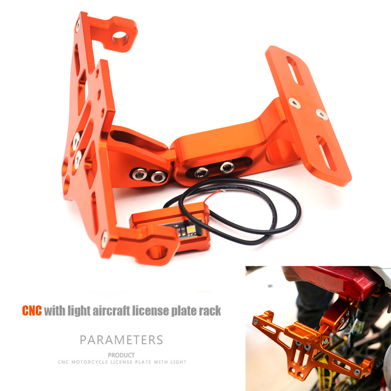 Motorcycle Adjustable Angle Aluminum License Number Plate Frame Holder Bracket FOR Suzuki GSX R 750 GSX R 600 SV 650 SV 1000 S motorcycle camera gps cell phone radar tank mount with holder for yamaha triumph suzuki motorcycles except gsx r 1000