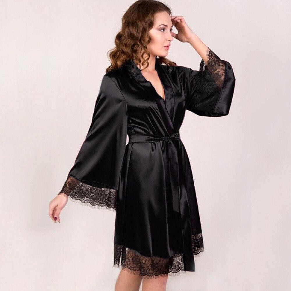 100% QualitäT Nachtwäsche Frauen Mode Sexy Nachtwäsche Dessous Spitze Versuchung Gürtel Unterwäsche Nachthemd Negligé Sexy Dessous Femme @ 8