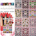 BeautyNailArt  3D Glitter French Nail Sticker Fashion nail art for 3d design nail decals stickers