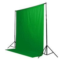 Green Screen Chromakey Backdrop Muslin Video Photo Background Photography Studio Background Cotton Photo Lighting 1 8mx2