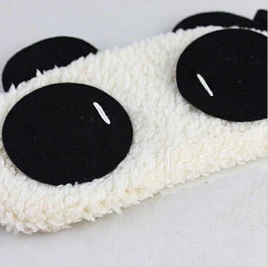 Милый Панда спальные маска для глаз Nap Мультфильм Тени маска для сна Повязки На глаза для сна Новый