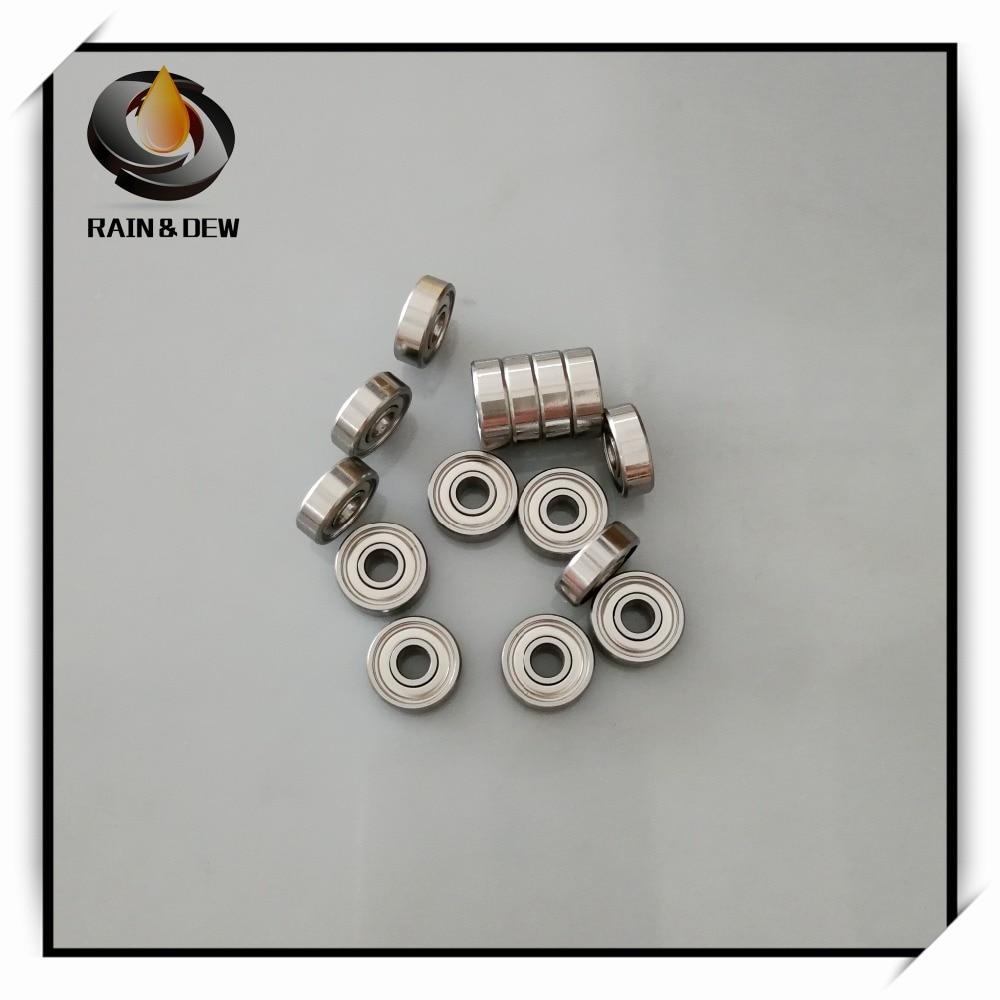 Metall Geschirmt Kugellager Lauflager 604z 4x12x4mm 25 Pcs 604zz