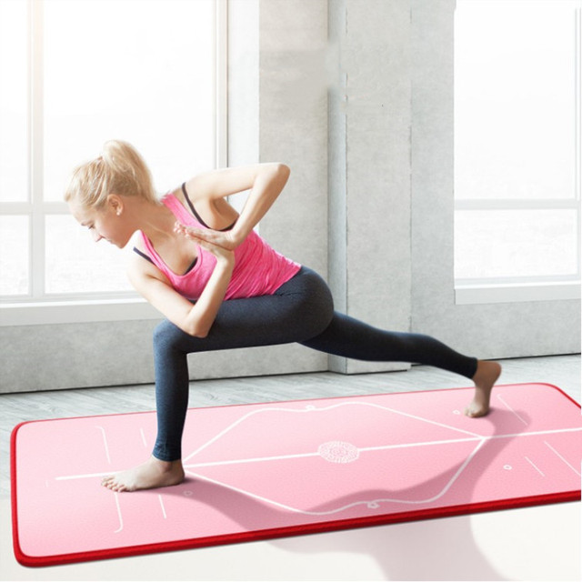 new appearance sold worldwide large discount US $35.89 |10MM Thickness185cm*80cm NBR Multifunctional Yoga Mat Duotone  Anti slip Yoga Fitness Pilates Gym Exercise Travel Mat Tapis Yoga-in Yoga  ...