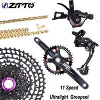 ZTTO 11 Speed Groupset Rear Derailleur Shifter Crankset Chain11 50T /52T Cassette Ultralight Freewheel Group Set VS M8000 M7000