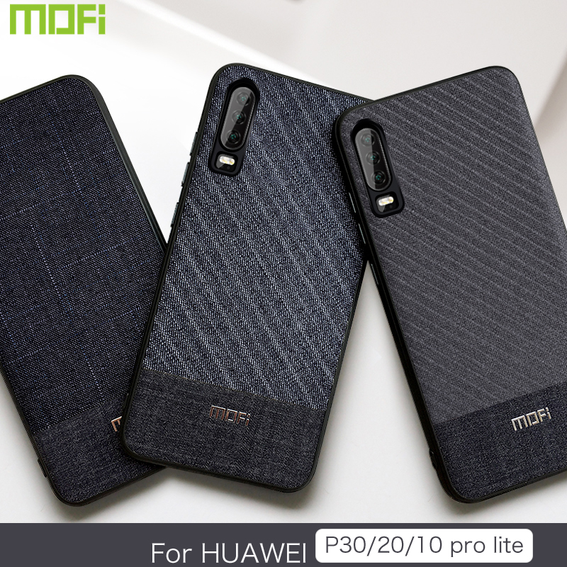 For Huawei P30 Case For Huawei P20 Case Pro Lite Mofi For Huawei P10 Plus Case Back Cover Cloth Gentleman P20 Lite Cover P10 30For Huawei P30 Case For Huawei P20 Case Pro Lite Mofi For Huawei P10 Plus Case Back Cover Cloth Gentleman P20 Lite Cover P10 30
