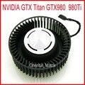 O envio gratuito de 65mm 12 v 1.8a bfb0712hf para nvidia gtx titan gtx980 980ti 4pin 4 fios ventilador de refrigeração da placa gráfica