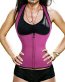 Neoprene Hot Shaper Vest Waist Trainer Waist Cincher Workout Women Bodysuit Slimming Corsets Waistband Tummy Fat Burn Girdle