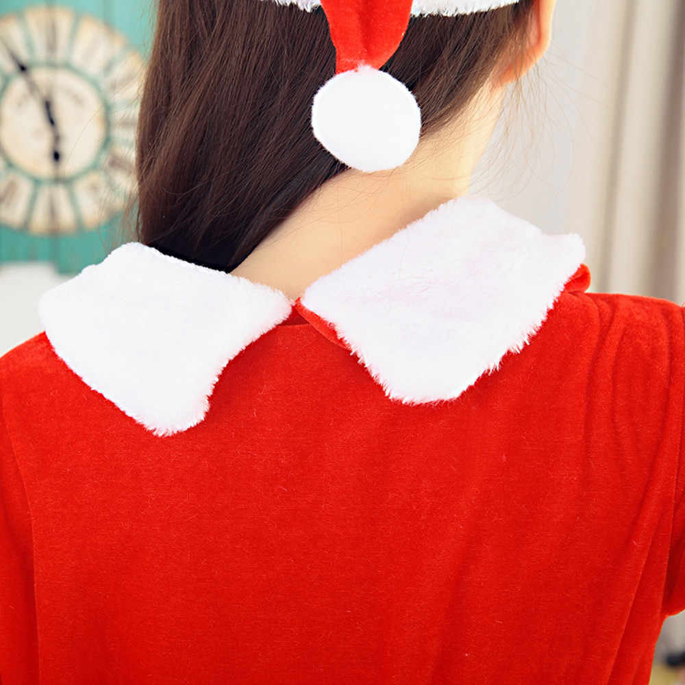 ... 2017 Best Sale Women Sexy Santa Christmas Costume Fancy Dress Xmas  Office Party Outfit womens clothing ... 213a98a89898