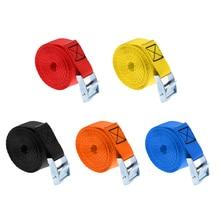 Heavy Duty Cam Buckle Cam-locking Tie Down Straps Roof Racks Trailers Kayak Tie Down Strap Kayak Accessories 25mm X 2.5m цены