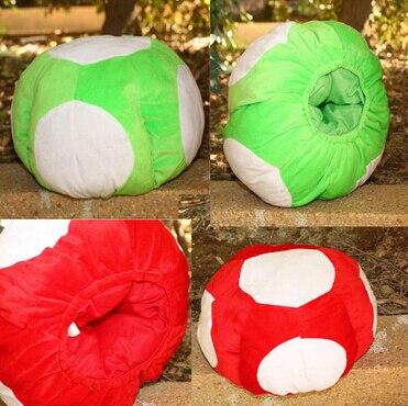1Pcs Super Mario Cap Mushroom Cosplay Plush Caps Hat Kids Gift 2 Color Free shipping