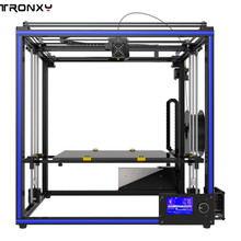 Tronxy X5S-400 400x400x400 мм Высокая точность быстрого монтажный ЖК-экран 3d принтер алюминиевый профиль устойчивый к износу-сопротивление