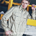 Spring and summer thin male work wear jacket wear-resistant breathable casual outerwear tooling