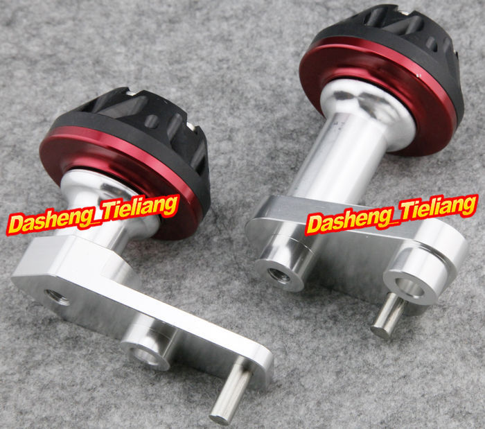 For Yamaha 2003-2010 YZF R6 Motorcycle Frame Sliders Protector Crash RED Color Spare Parts Supplies