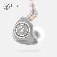 Наушники TFZ KING PRO HIFI монитор в ухо наушники TFZ 2Pin интерфейс металлические спортивные индивидуальные динамические наушники для мобильного те