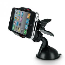 2017 car phone stand GPS Cellphone Holder For Car, Mini ABS Mobile Phone Support, Silicone Sucker Type GPS Holder