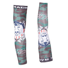 Lycra/Polyster Camouflage Breathable Outdoor Bike Arm Warmers Sunscreen Racing Cycling Sleeves Cooling Bicycle Sleevelet Cover