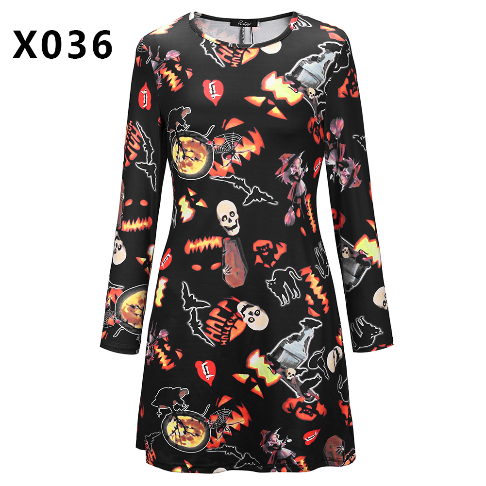 women dress 2019 fashion ladies female new fall halloween womens festivals classics comfort elegance clothing dresses lady in Dresses from Women 39 s Clothing