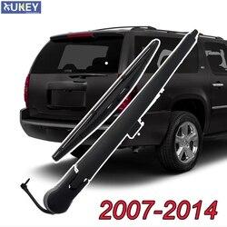 Xukey traseiro brisa limpador braço lâmina conjunto para chevrolet suburban 1500 2500 tahoe 2014 2013 2012 2011 2010 2009 2008 2007