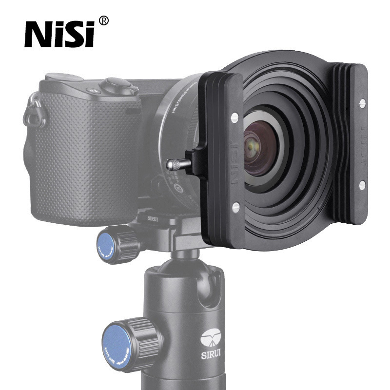 NiSi 70mm Filter Holder Bracket Aluminum Square Filters Holder For Camera Lens