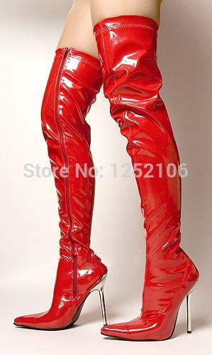 Online Get Cheap Shiny Thigh High Boots -Aliexpress.com | Alibaba
