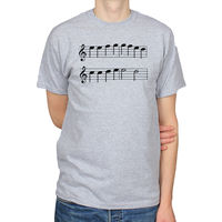 ODE TO JOY LUDWIG VAN BEETHOVEN CLASSICAL MUSIC MUSICAL NOTES MENS T SHIRT TEE T Shirt