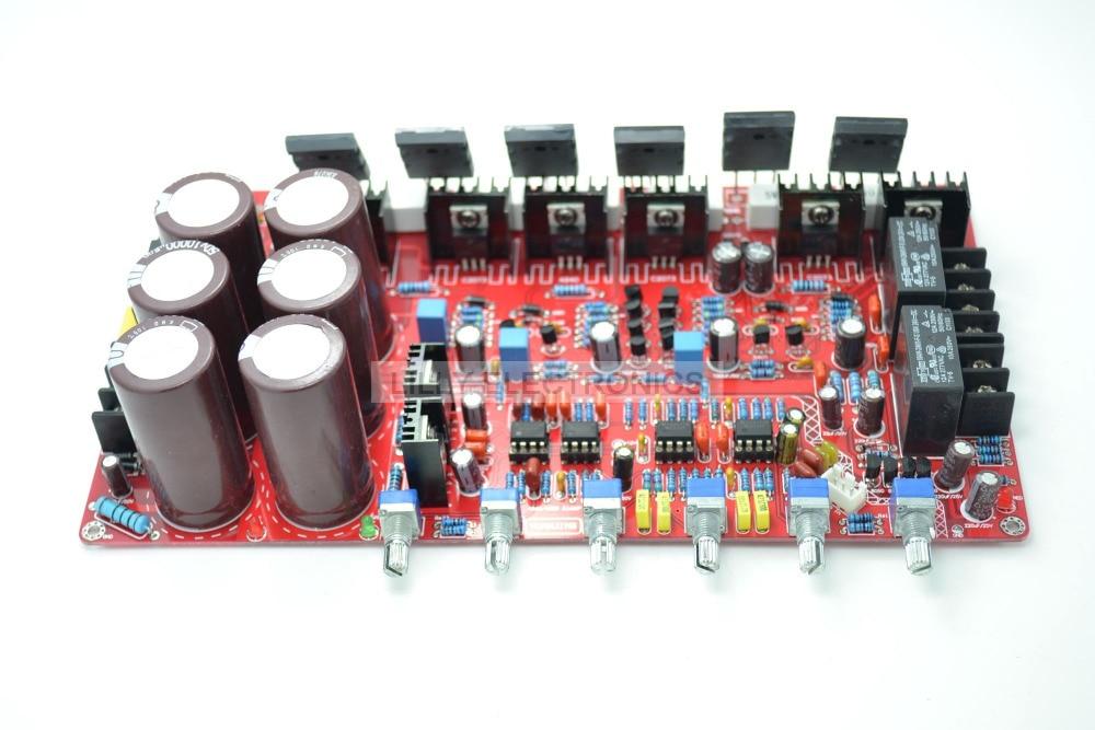 TT1943/TT5200 2.1 Power Amplifier Board (80W +80W +100W) gletcher tt