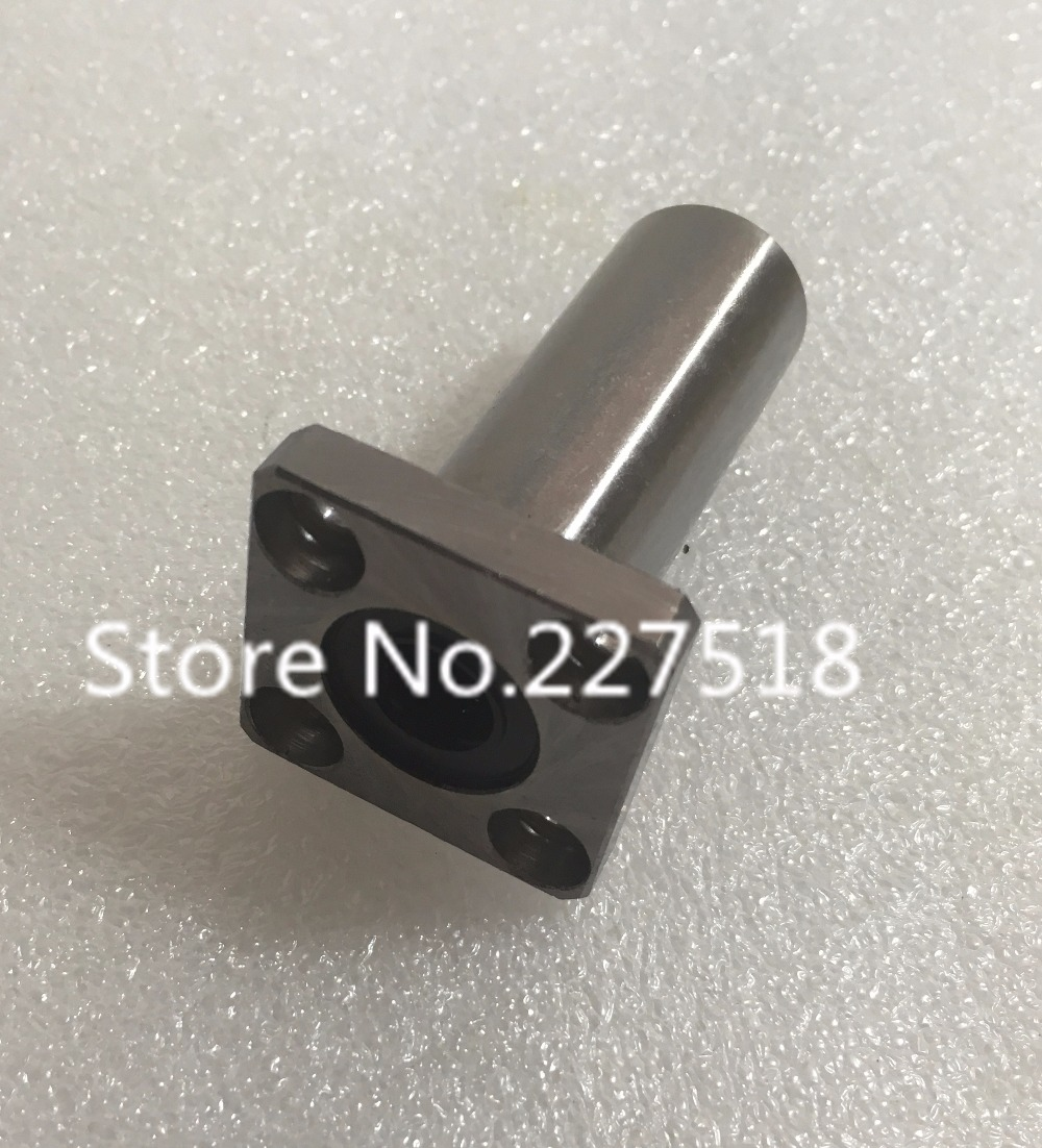 3D printer 1pc LMK60LUU 60mm Longer Extended Flanged Type Linear Bushing Ball Bearing CNC parts for RepRap 3D printer longer linear ball bearing bushing lm8luu 8mm linear bearings cnc parts 3d printer parts accessories