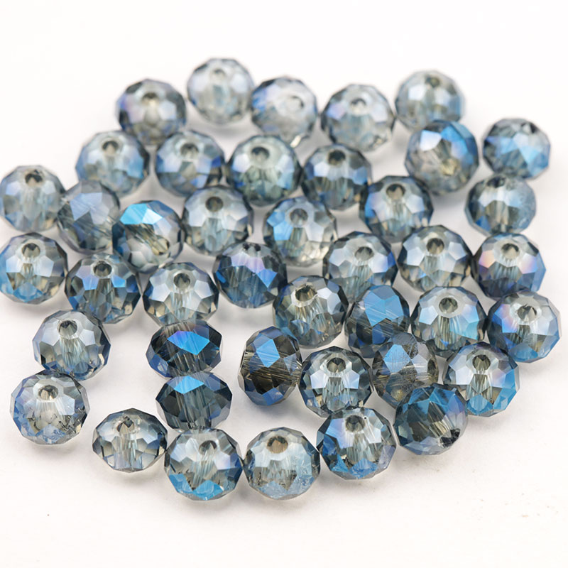 150pcs 4mm shiny faceted round Beads 5040 crystal beads Loose Spacer Beads Rondelle Austria Glass beads for DIY Jewelry Making in Beads from Jewelry Accessories