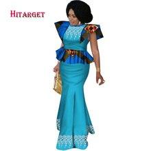 2018 Party Skirt Set African Dashiki Women Traditional Bazin Print Plus Size Cotton African Dress For Women Suit 2 Pieces WY2808 african dresses for women 100% cotton new arrival women s print dashiki dress stunning elegant