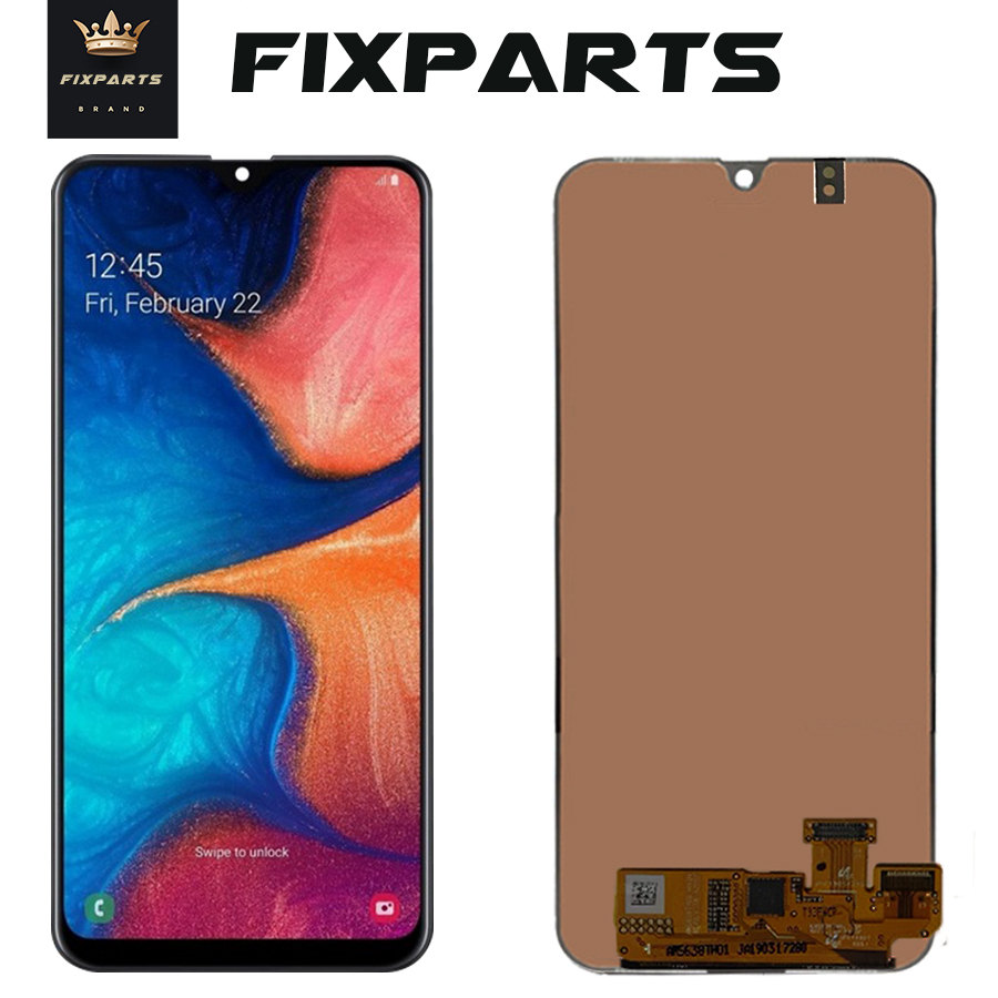 For SAMSUNG GALAXY A20 LCD A205 Display Touch Screen Digitizer 6.4 Super AMOLED For Samsung A20 2019 LCD Pantalla ReplacementFor SAMSUNG GALAXY A20 LCD A205 Display Touch Screen Digitizer 6.4 Super AMOLED For Samsung A20 2019 LCD Pantalla Replacement