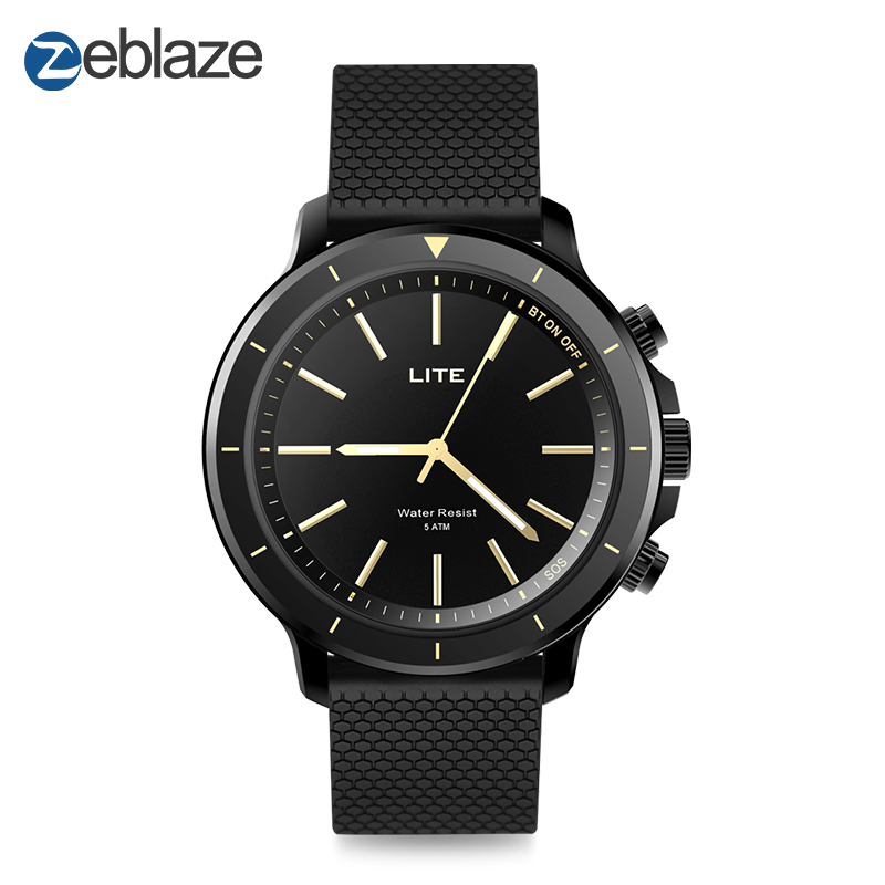 New Zeblaze VIBE LITE 5ATM Waterproof SOS Smartwatch 24-month Standby Time All-Weather Monitoring For IOS And Android Watch Men