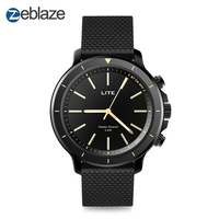 New Zeblaze VIBE LITE 5ATM Waterproof SOS Smartwatch 24 month Standby Time All Weather Monitoring For IOS And Android Watch Men
