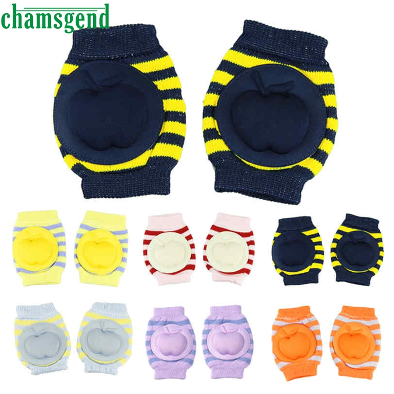 CHAMSGEND Best seller six colors Fashion Kids Girl Baby Baby Safety Crawling Elbow Cushion Toddlers Knee Pads Protector Jan7 S25