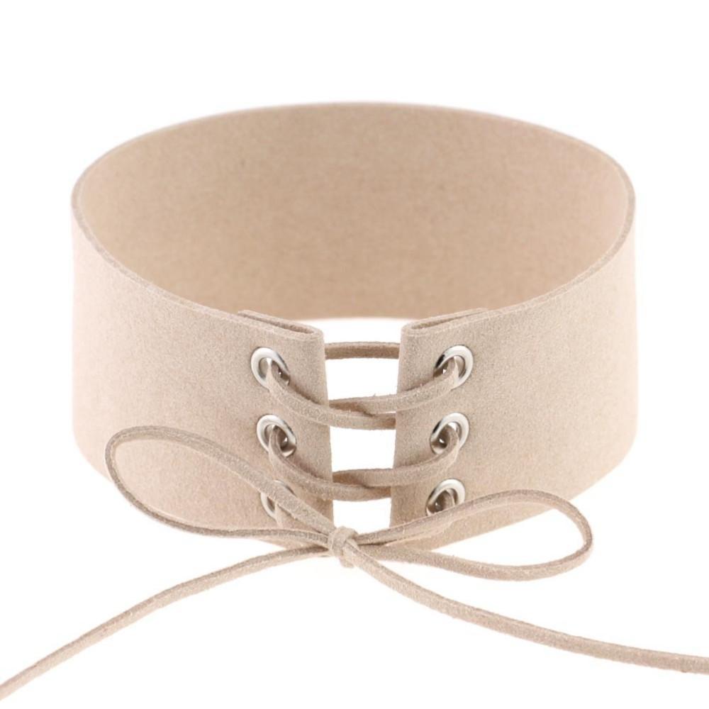 HTB13N0rLpXXXXciXVXXq6xXFXXXU Gothic BDSM Black Velvet Lace Up Choker Collar Necklace For Women - 11 Colors