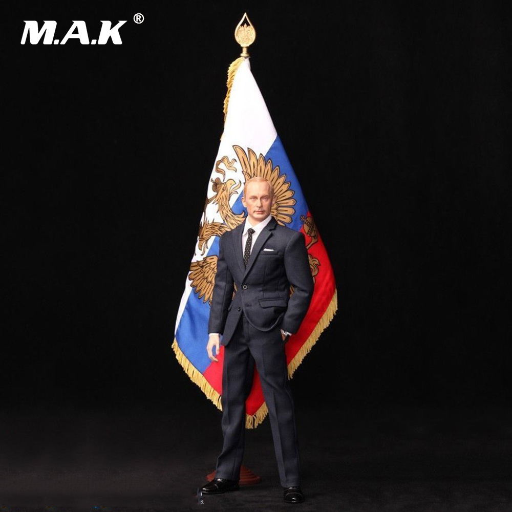 R80114 1:6 Scale Full Set Male Action Figure Vladimir Putin - President of Russia Figure Model Military Collection for Gift in stock al100019 1 6 full set military soldiers action figure model wwii royal air force pilot figure toy for collection gift