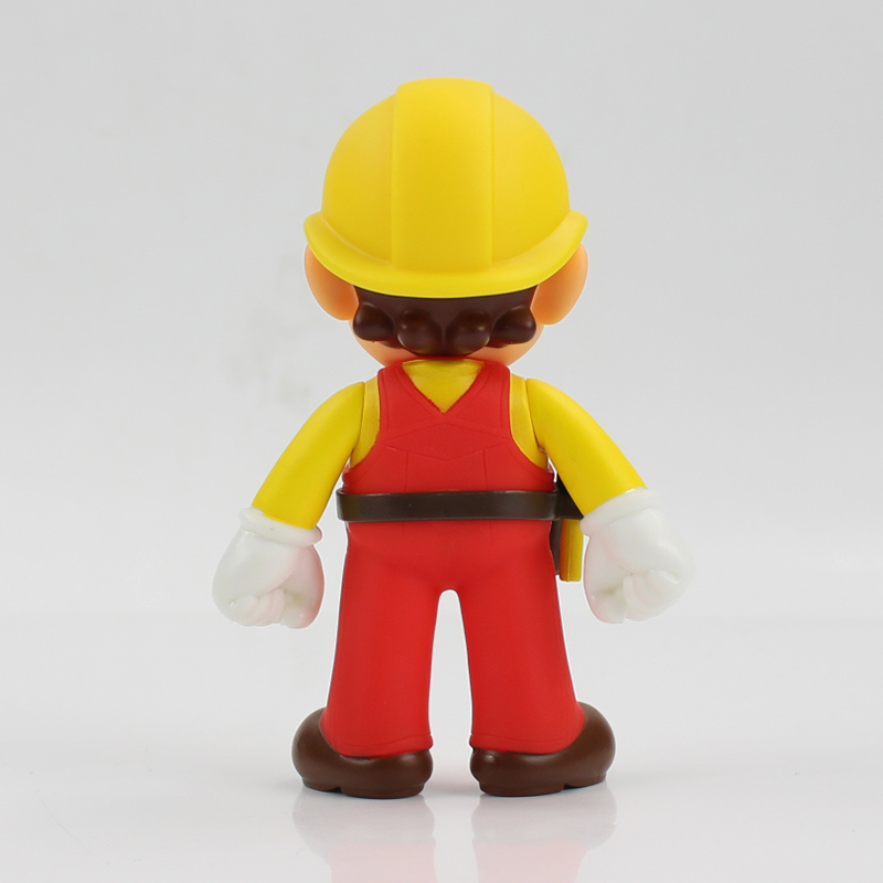 13cm The Repairman Mario Vinyl Figure Toys Super Mario Bro PVC Action Figure Toys Doll Brinquedos Kids Birthday Gifts 14