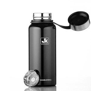 Image 2 - 600/800/1100/1500 Ml Double Wall Thermos Cup Roestvrijstalen Thermoskan Isolatie Fles Voor Water flessen Sport Shaker Mok