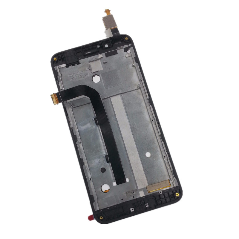 LCD Display Digitizer Touch Screen Sensor Assembly + Frame For <font><b>Asus</b></font> Zenfone Go TV ZB551KL <font><b>X013D</b></font> X013DB LCD image