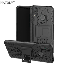 For Huawei Honor 8C Case Armor Shell Coque Heavy Duty Hard Rubber TPU PC Back Phone Cover for Honor 8C Case for Huawei Honor 8C набор чехлов tribe honor 8c силикон пластик прозрачный и красный