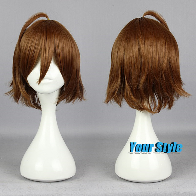 35cm Fahsion Cute Pictures Short Haircuts/Hair Cut Layered Haistyles Tatsumi Short Male Cosplay